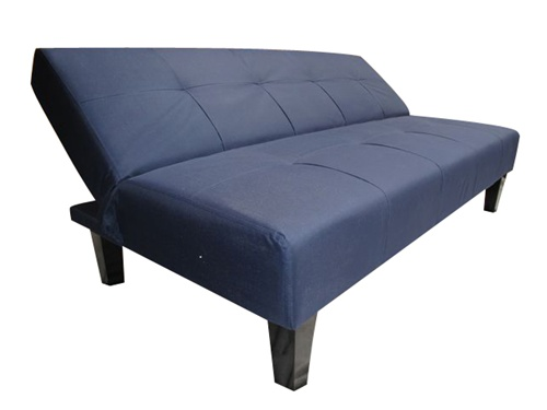Navy Blue Collegiate Futon   Dorm Room Furniture Part 93