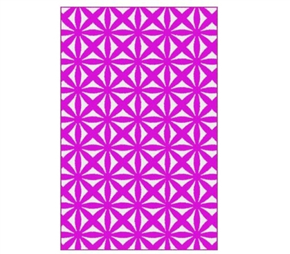 Rugs Are College Essentials - Bright-Eyed Suzy Rug - Pink and White - Add Rugs For Cheap