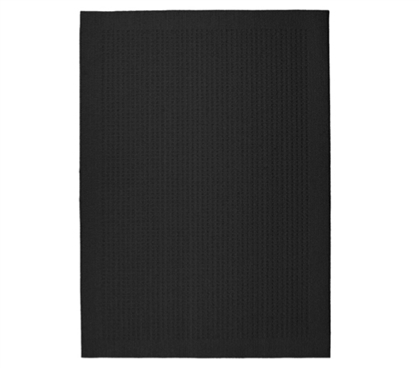 Simple Yet Useful - Basic Black College Rug - Add Decor For Dorms