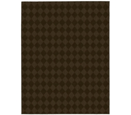 Preppy Chocolate Rug Dorm room decorations