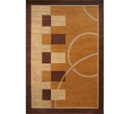Cheap Dormroom College Court Rug
