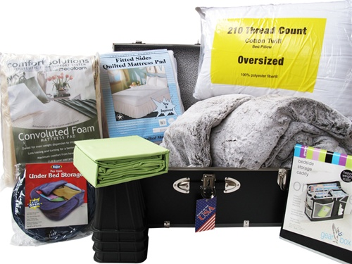 Ultimate Dorm Bedding Trunk Package   Twin XL College Bed Sets Part 95
