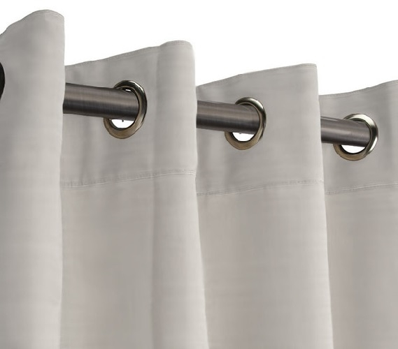 Curtains Ideas curtain rod hanger : Adjustable Tension Rod - Dorm Room Dividers College Supplies