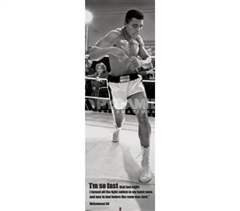 Stand Among The Best - Muhammad Ali Dorm Door Poster