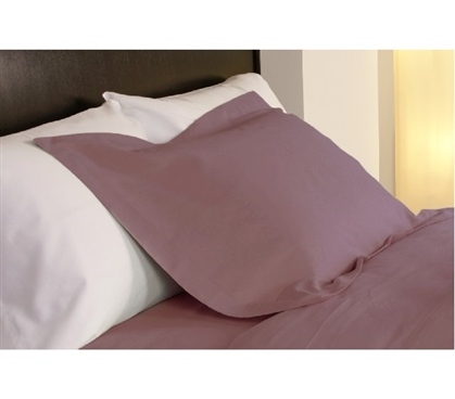 Twin XL Dorm Bedding Temperature Regulation Dorm Pillowcases - Rose Pink Dorm Essentials