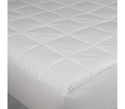 Dorm Essentials Temperature Regulation Twin XL Mattress Pad Twin XL Dorm Bedding