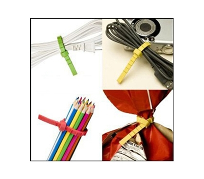 Multi-Purpose Reusable Ties - Q KNOT Dorm Supplies