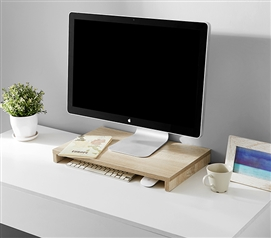 Computer Monitor Stand with Keyboard Storage
