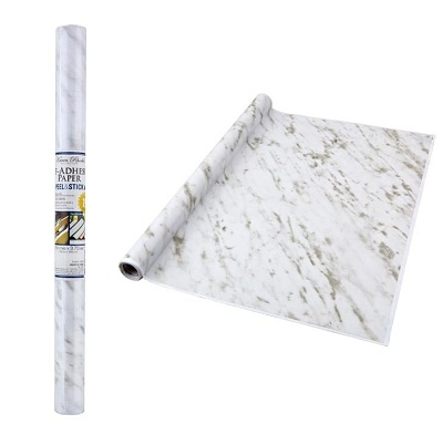 Self Adhesive Shelf Liner Marble Dorm Decorations Wall