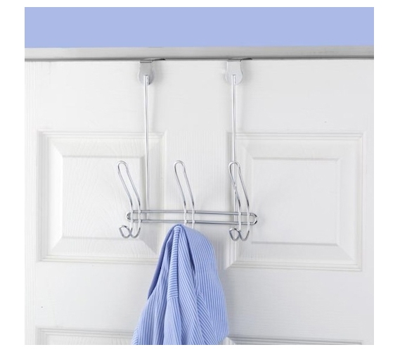 Hooks To Hang Clothes compact 3-hook - over the door closet organization hang towels