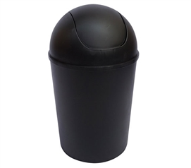 Black SwingLid Trash Can Accessory