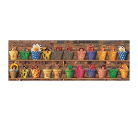 Potting Shed Babies - Anne Geddes College Poster adorable babies sit in pots like pants in super cute college room poster