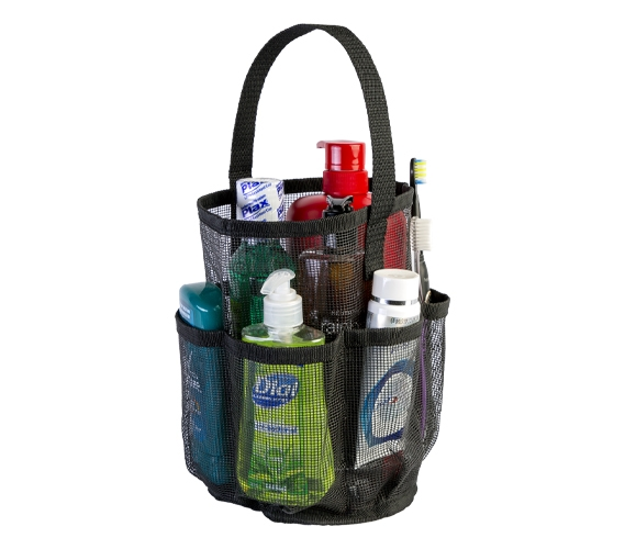 ebbe836e70a9 Canvas Mesh Tote - STRONGEST Shower Bag
