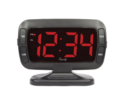 Tilt LED Dorm Alarm Clock