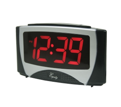 Large Red LED Alarm Clock