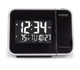 Atomic Projection Alarm Clock Dorm room alarm clocks