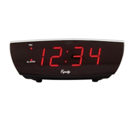 Digital Dorm Alarm Clock With USB Charging Port