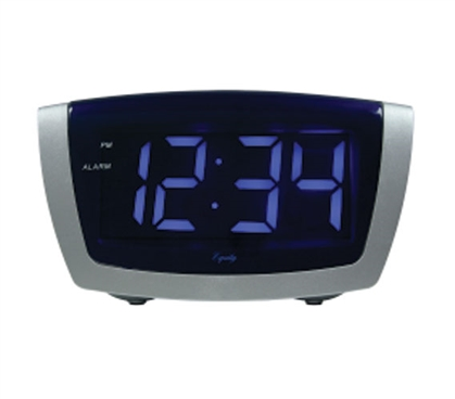 Blue LED Dorm Alarm Clock
