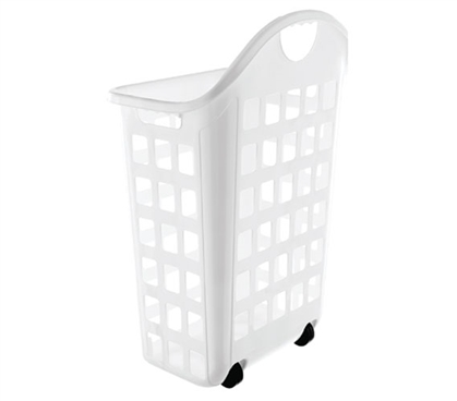 College Laundry Hamper With Wheels
