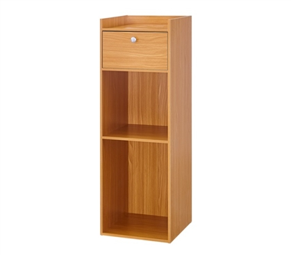 Yak About It Extra Tall Nightstand - Beech