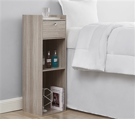 Yak About It Extra Tall Nightstand - Natural