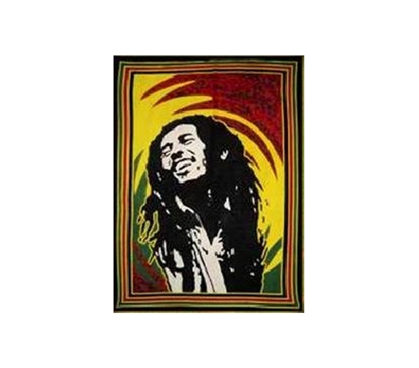Bob Marley Being Bob Marley Tapestry Dorm Wall Art College Wall Decor