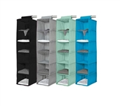 Cool Color Options - 6 Shelf Organizer - Vibrant - Holds A Ton Of Dorm Supplies