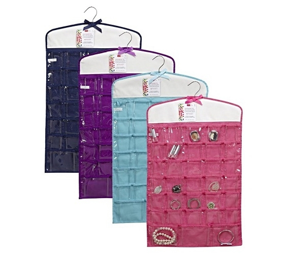 Jewelry Organizer 33 Pockets Available in 4 Colors Dorm