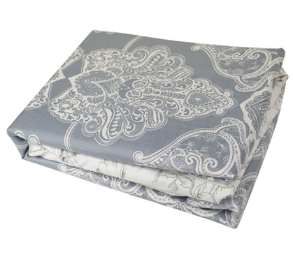 Alberobella - Silver Gray Twin XL Sheet Set