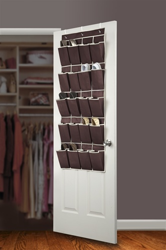 chocolate cream shoe organizer over the door dorm room shoe organizer cheap supplies for. Black Bedroom Furniture Sets. Home Design Ideas