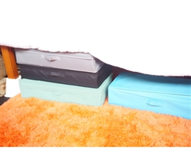 Hold A Variety Of Dorm Supplies - Under bed Storage Box - Vibrant - Keep Dorm Stuff Organized