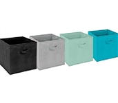 Keep Dorm Room Tidy - Dorm Storage Cubes - Vibrant - Enhance Dorm Decor