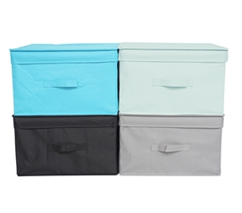 Why Not Keep Things Colorful? - Vibrant Storage Organizers Jumbo - Dorm Organization Is Key!