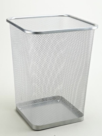 Mesh Trash Can Square Black Or Silver