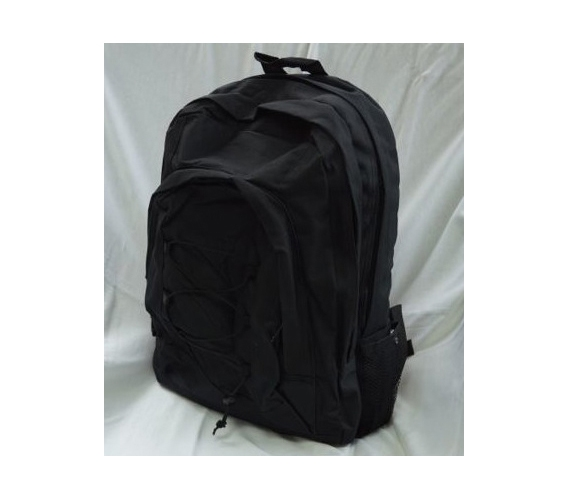 Cross Campus Black Backpack Cheap Dorm Items Basic Supplies For ...