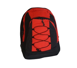Cross Campus Backpack - Red Dorm Essentials Must Have Dorm Items