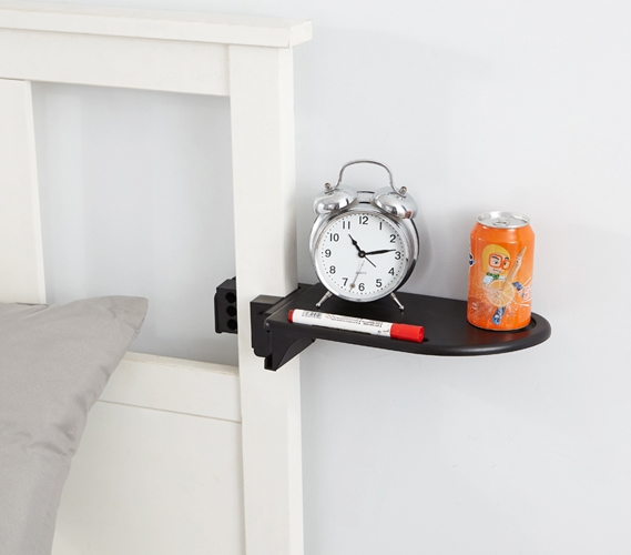 Bed Post Shelf   Keeps College Stuff Handy When You Need It