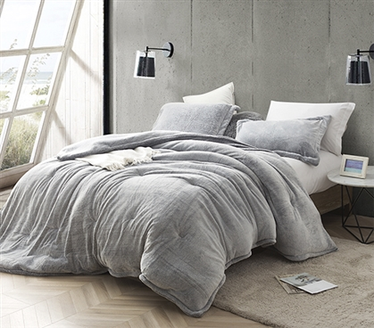 Coma Inducer Twin XL Comforter - Frosted - Black