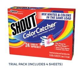 Shout Color Catcher - Trial Pack