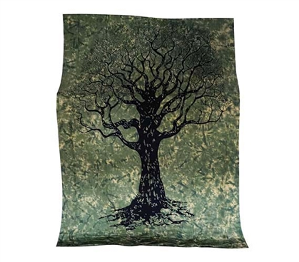 Useful College Supplies - Tree Tapestry - Cheap Dorm Decor