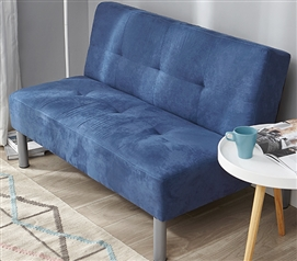 College Mini-Futon - Dark Blue