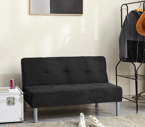 Peachy College Mini Futon Black Machost Co Dining Chair Design Ideas Machostcouk