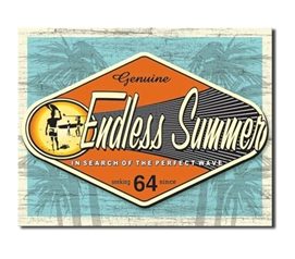Tin Sign Dorm Room Decor cool surf beach tin sign makes a cool living room decorative piece