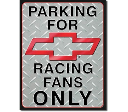 Tin Sign Dorm Room Decor Racing Fans parking sign on dorm room wall and apartment tin sign for college decoration