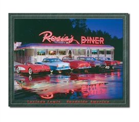 Tin Sign Dorm Room Decor retrofies your college apartment wall or dorm room wall with 1950's flare