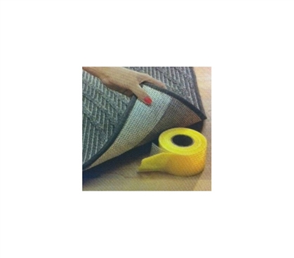 "Useful Dorm Item - Rug Gripper (2.5"" x 15'FT) - Keep Rugs Stationed"