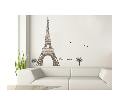 Paris Tour Eiffel Peel N Stick Cool dorm decorations