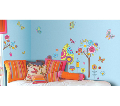 Fantasy Garden Peel N Stick Dorm room ideas