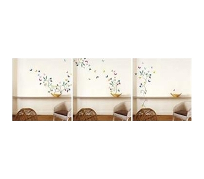 Butterflies - Peel N Stick Dorm Room Decorations Dorm Room Decor