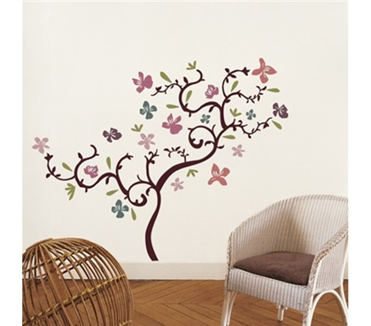 Cool Summer - Dorm Room Wall Decor Peel N Stick College Decor Accessories